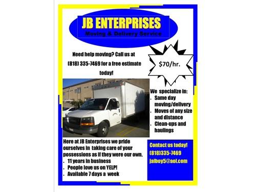 jb enterprises movers