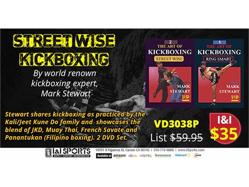 VD3038P Kickboxing 2 DVDs