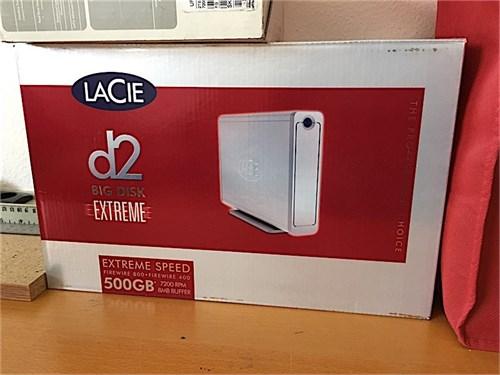 LaCie 500 GB disc drive