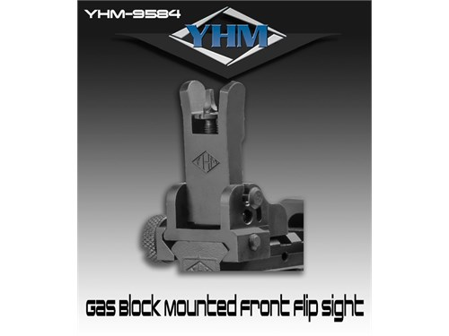YHM front flip sight