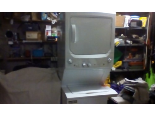 GE STACKABLE WASHER N DRY