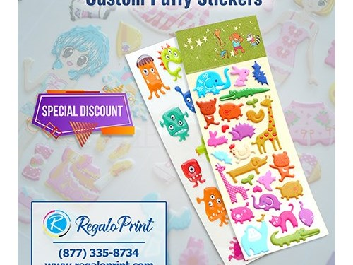 Printing Puffy Stickers