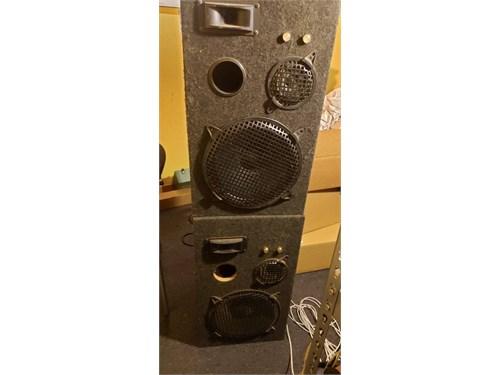 Speakers Pro DJ 3way pair
