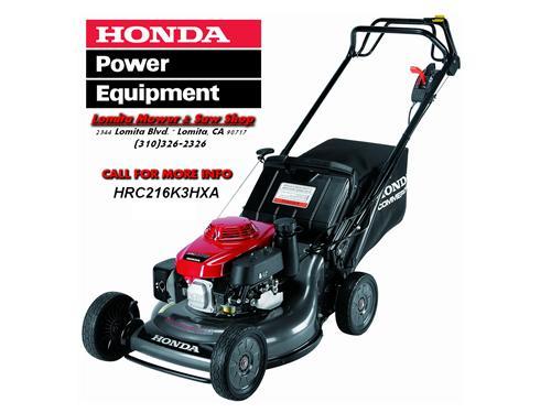 New Honda HRC2163HXA Mowe