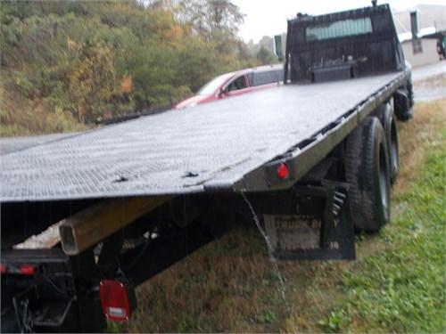 28' steel rollback bed