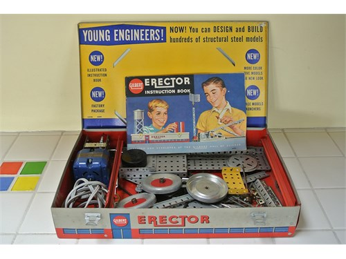 Vintage 1959 Erector Set