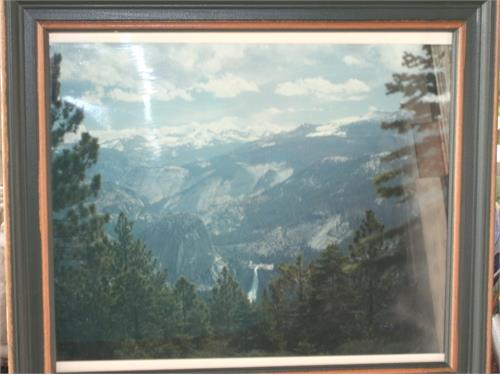 Yosemite Framed Picture
