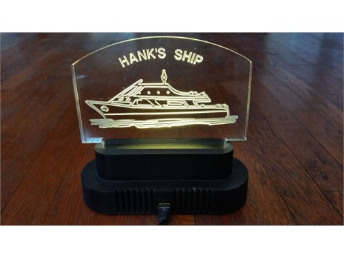 Hanks Ship Lamp
