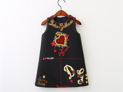 Toddler Girl Black Dress