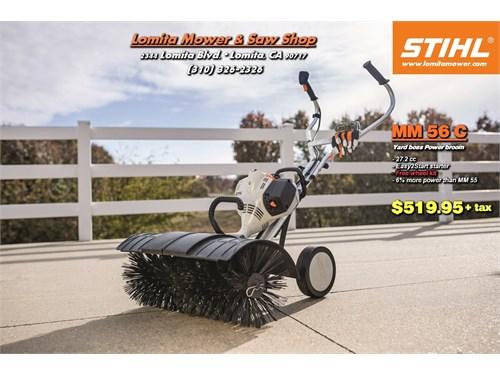 STIHL MM 56C w/ Brush