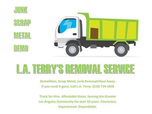 Removal, Hauling and Cleanup