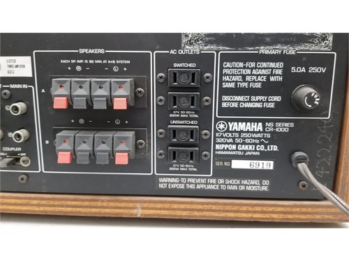Yamaha-CR-1000 Receiver | For Sale | Thousand Oaks CA | recycler com
