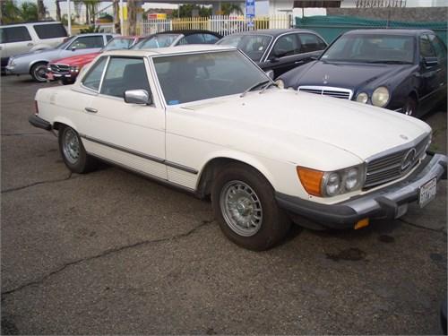 1984 mbz 380 sl