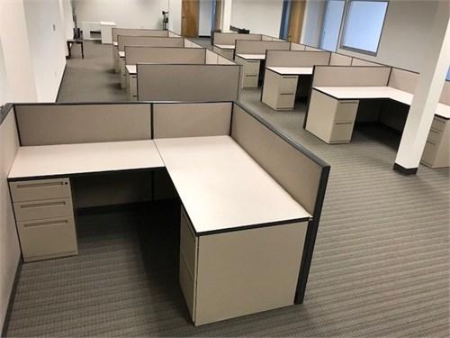 "Kimball 5x6x42""H cubicles"