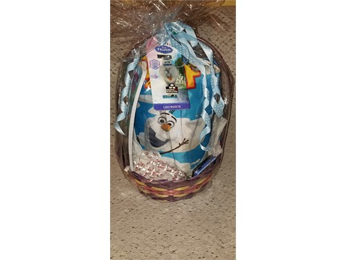 Disney OLAF Gift Basket.