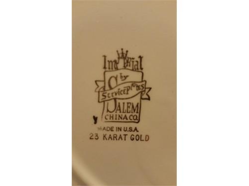 Imperial Salem 23K Plate