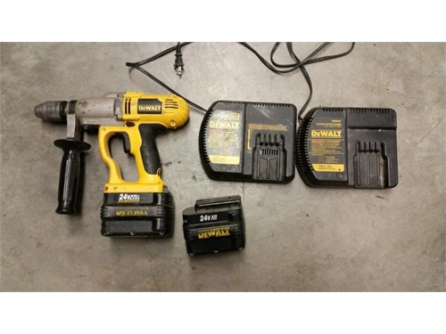 DeWalt 24 volt drill