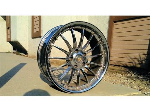 "18"" Inch JWL VIA Wheels"