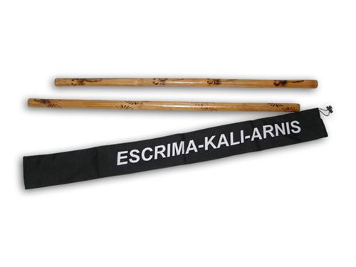 2 Escrima Kali Stick Set