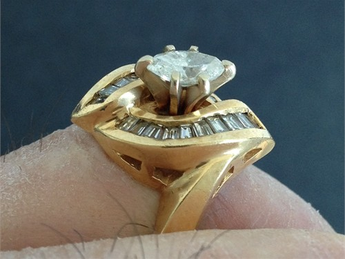 Marquis & Baguette Ring