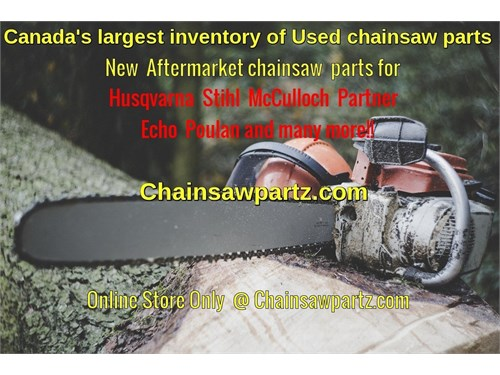 New & Used Chainsaw parts