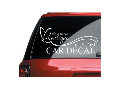 Car Decals and Lettering