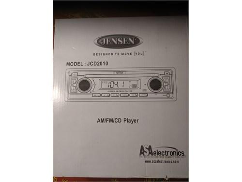 Jensen JCD2010 car stereo