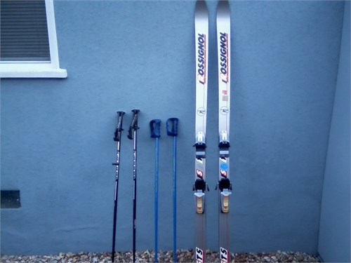 Skis & Ski Poles