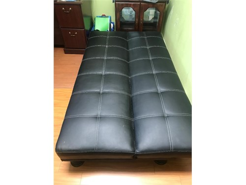 Futon and DVD/CD Case