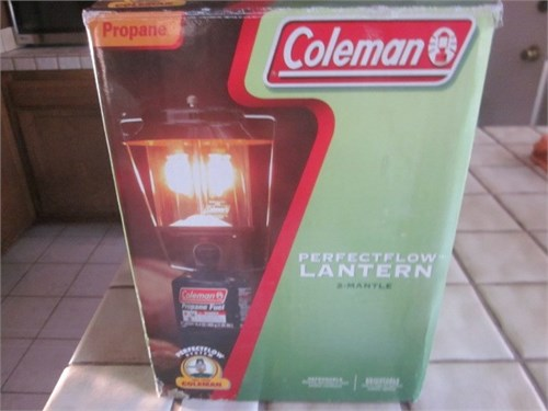 2 mantle propane lantern