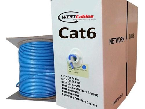 Cat6 Plenum 1000FT Cable