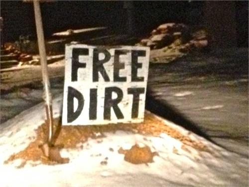 FREE DIRT!!!