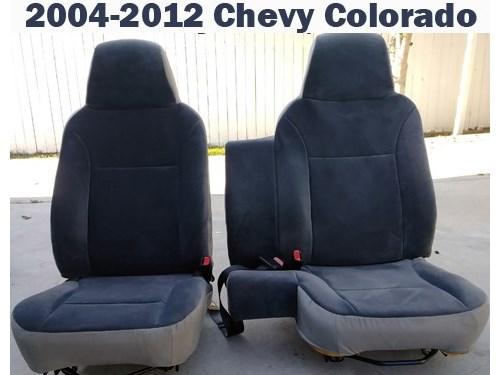 Chevy Colorado Seats 2012