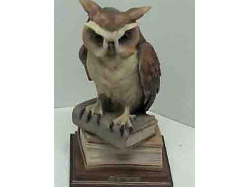 Armani Wise Owl Sculpture