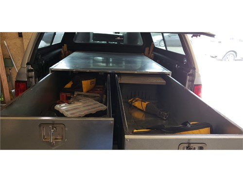 Truck Bed Tool Box 6ft.-4