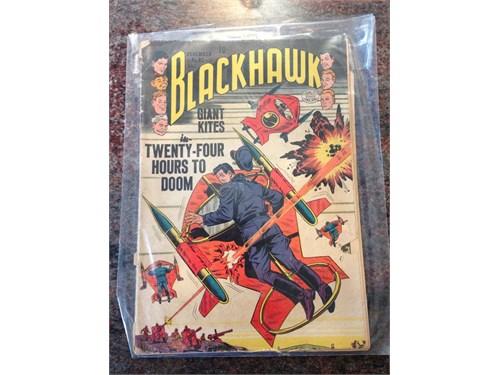 D.C. Blackhawk #82, 1954