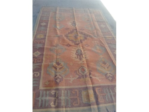 Hand woven large kilim