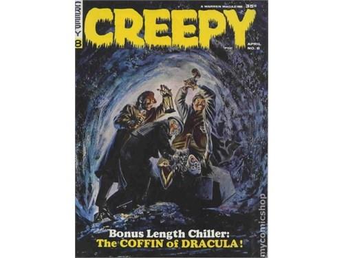 """""""CREEPY"""" No. 8 April 1964"""
