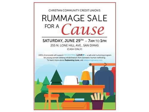 Rummage Sale For A Cause