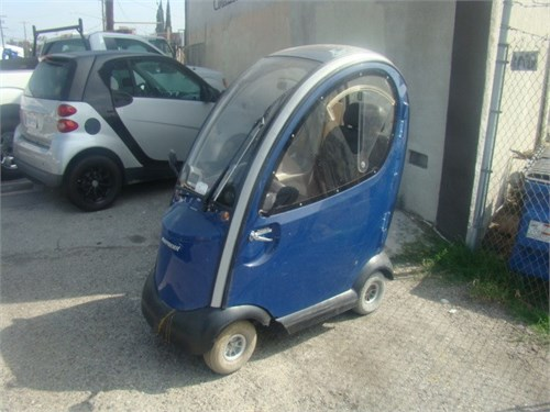 Enclosed Mobility Scooter