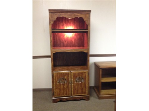 Bookcase/Cabinet-Lighted