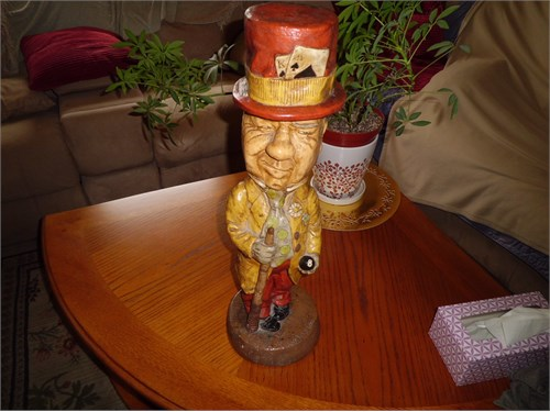FIGURINE - W.C.FIELDS