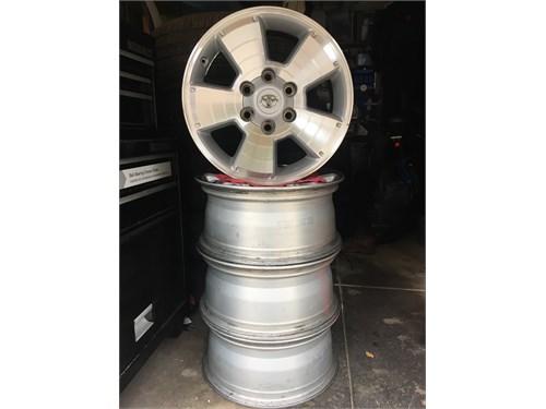 2014 Tacoma Factoy wheels