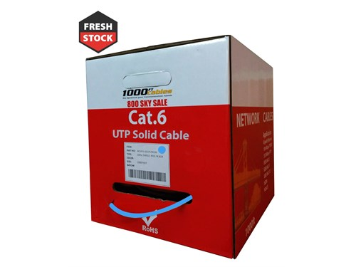 1000ft Cat6 Plenum Cable