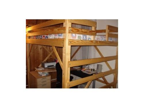 Huge loft bed