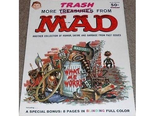 More Trash MAD #1 1958 EC