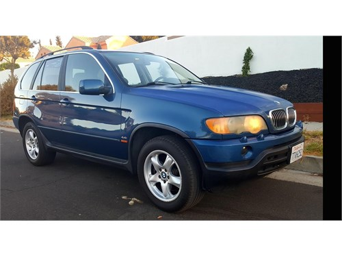 2002 Bmw X5 44i Suv Cars And Vehicles Sylmar Ca Recyclercom