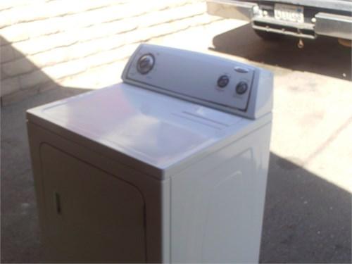 whirpool gas dryer