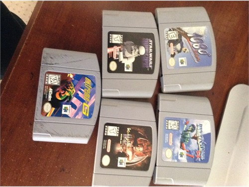nintendo 64 video games