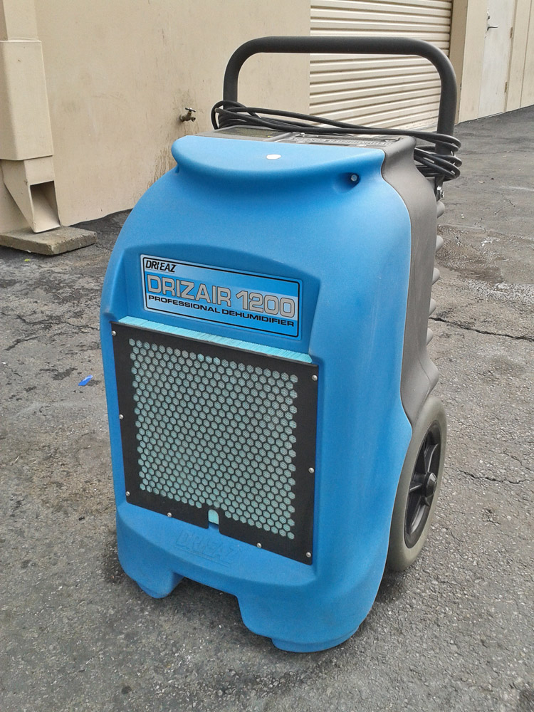 Dri Eaz DrizAir 1200 Professional DehumidifierRefrigerant dehumidifier that can remove up to 145